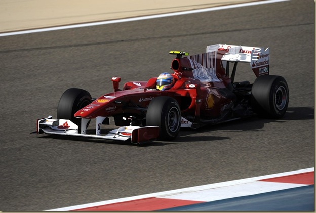 Fernando Alonso crava melhor tempo