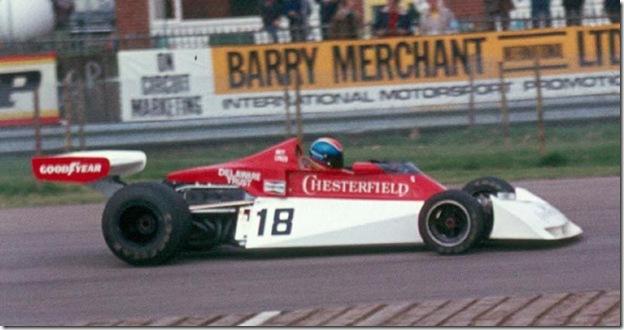 F1DataBase - Brett Lunger, Surtees - Grã-Bretanha 1976