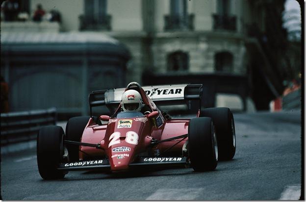 F1DataBase - René Arnoux, Ferrari - Mônaco 1983