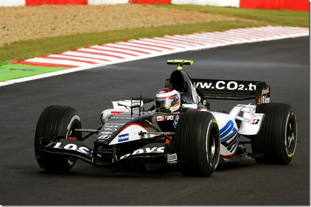 F1DataBase - Enrico Toccacelo, Minardi - Bélgica 2005