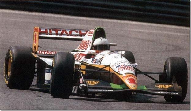 F1DataBase - Philippe Adams, Lotus - Bélgica 1994