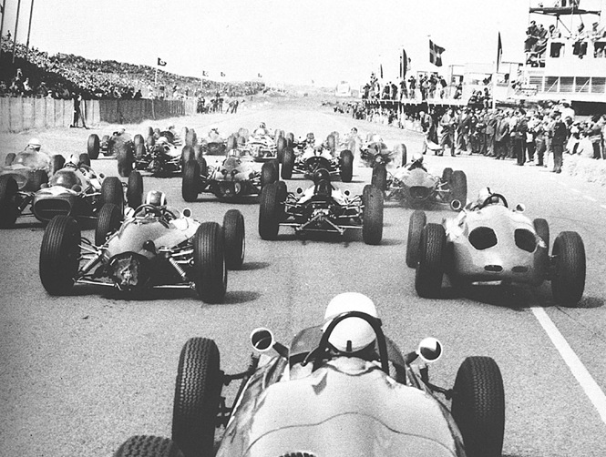 F1DataBase - Largada - Holanda 1963