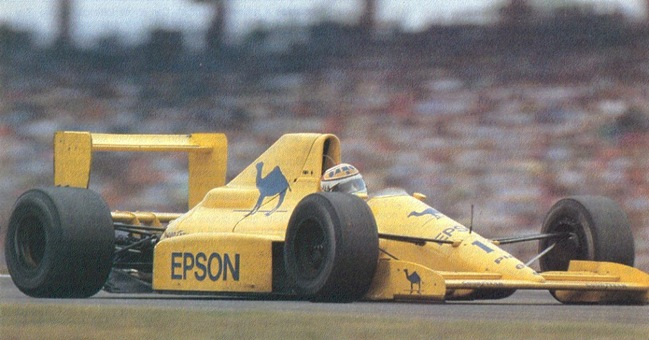 F1DataBase - Nelson Piquet - Alemanha 1989
