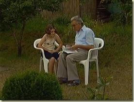 Ο Βάσκο Καρατζά με την εγγονή του.