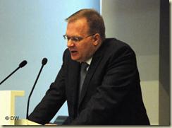 Професорот Кристиан Фос. Ο καθηγητής Κρίστιαν Φος.