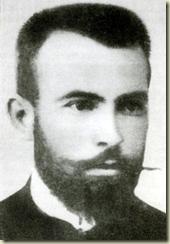Портрет на Крсте Петков Мисирков Πορτραίτο του Κρίστε Πέτκοφ Μισίρκωφ