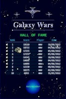 Screenshot of Galaxy Wars