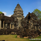 Wat Athvea is a peaceful site a couple minutes off the main road that runs from Siem Reap to the Tonle Sap.