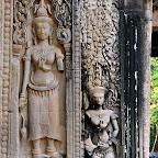 Thommanon Devata (sacred female images), Siem Reap, Cambodia http://www.Devata.org