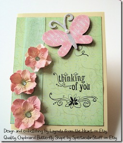 card with chipboard butterfly 3