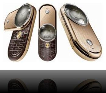 téléphone de luxe Motorola Aura