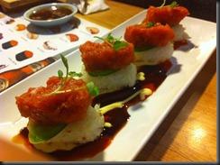 Yoshi's Crispy Spicy Tuna 033111