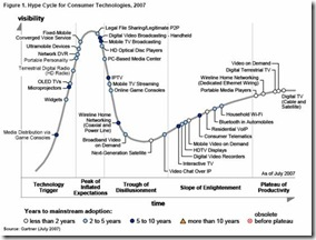 Gartner Hype Cycle 2007