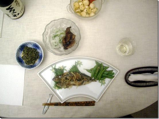 Japanese Dinner  110313