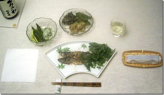 Japanese dinner 1