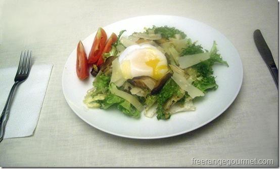 vegetarian lyonnaise