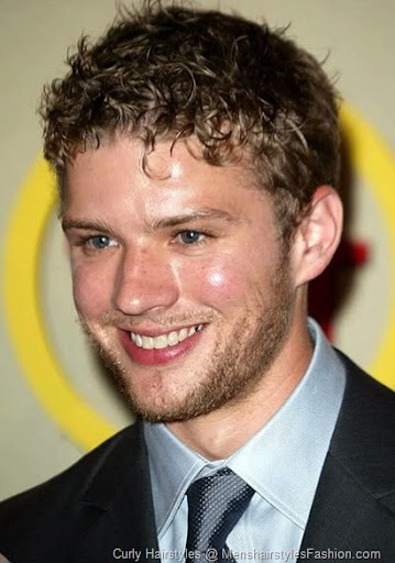 Ryan Phillippe Curly Hairstyle – Men's Curly hairstyle