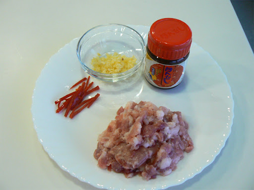 Pork with fermented beans