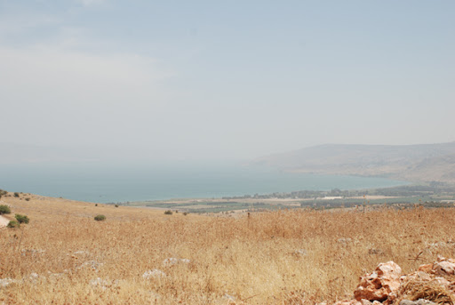 the kinneret, sea of galilee