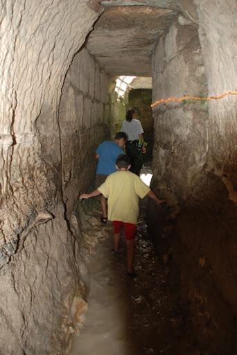 Mei Kedem  renovated Roman underground aqueduct