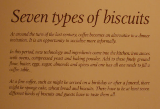 Seven types of biscuits, nordisk museum