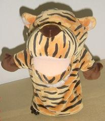 hand puppet tiger