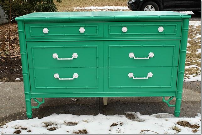 Green Dresser @ Primitive & Proper