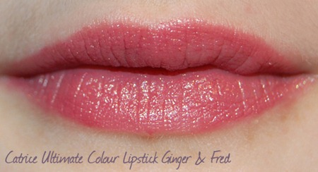 Catrice Ultimate Colour Lipstick Ginger & Fred Lippenswatch