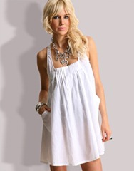 trapeze beach dress