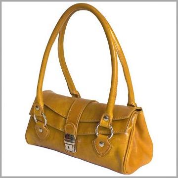 Corsica Handbag in Olive Brown