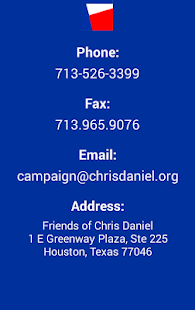 Chris Daniel Campaign - screenshot
