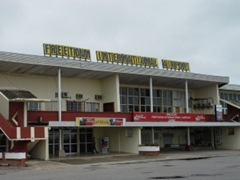 Freetown Air Port Arrival
