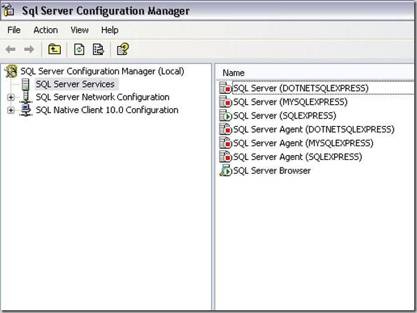 SQLServerConfiguration