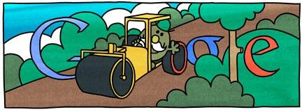 [76th Birthday Of Roger Hargreaves-Mr Slow Google Doodle Logo[4].jpg]