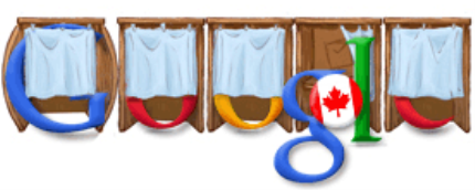 Canada Federal Elections Google Logo