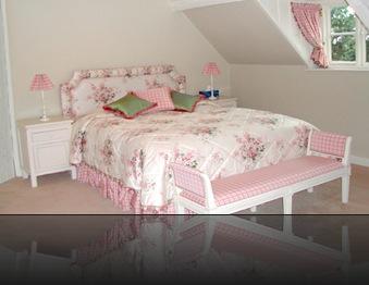 chambre deco rose