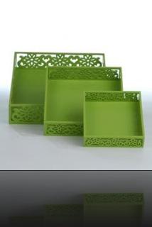 Décoration en vert