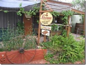Shop garden