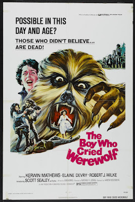 The Boy Who Cried Werewolf (1973, USA) movie poster