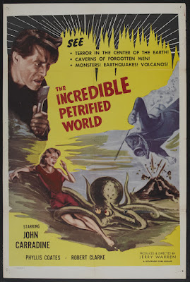 The Incredible Petrified World (1957, USA) movie poster