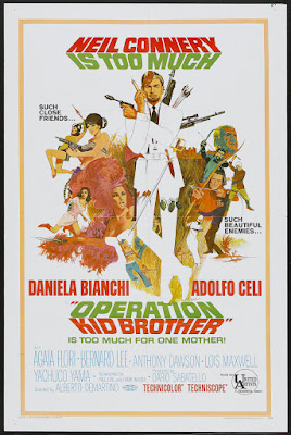 Operation Kid Brother (OK Connery) (1967, Italy) movie poster