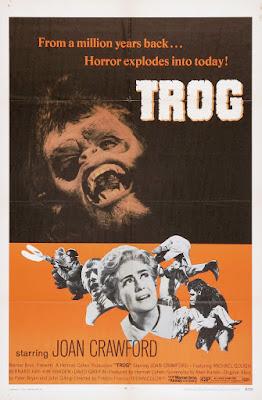 Trog (1970, UK) movie poster