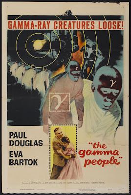 The Gamma People (1956, UK) movie poster