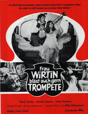 Frau Wirtin Also Likes to Play the Trumpet (Frau Wirtin bläst auch gern Trompete) (1970, Austria / Germany / Italy) movie poster