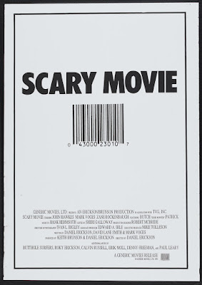 Scary Movie (1989, USA / Canada) movie poster