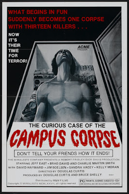 The Curious Case of the Campus Corpse (aka The Hazing) (1977, USA) movie poster