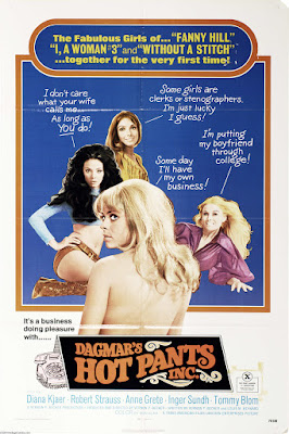 Dagmar's Hot Pants, Inc. (Dagmars Heta Trosor) (1971, Sweden / Denmark / USA) movie poster