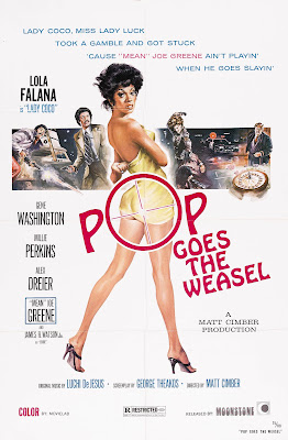 Pop Goes the Weasel (aka Lady Cocoa) (1975, USA) movie poster
