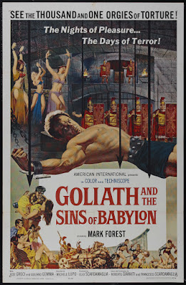 Goliath and the Sins of Babylon (Maciste, l'eroe più grande del mondo / Maciste, the World's Greatest Hero) (1963, Italy) movie poster