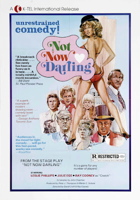 Not Now Darling (1973, UK) movie poster
